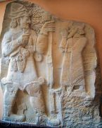 Plaster cast of the Ivriz relief (late Hittite)