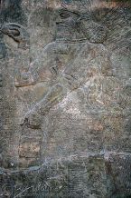 Assyrian relief depicting a Genie