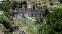 Ephesus - Commercial Agora and Library of Celsus