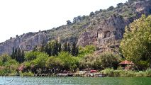 Dalyan River and Kings' tombs