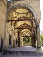 İmaret Camii - Main Entrance in Ottoman style