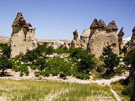 Central Anatolia Images - Travel Information - Turkey Photo Guide