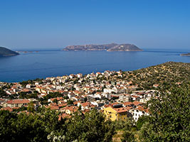 Panoramic View of Bay of Kaş