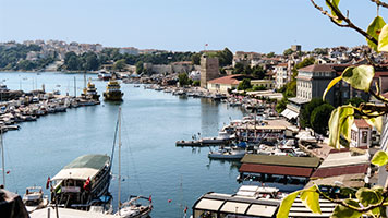Sinop and its marina is a beautiful holiday resort on the Black Sea coast